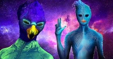 Présentation des Extraterrestres Aviens Bleus et Aviens