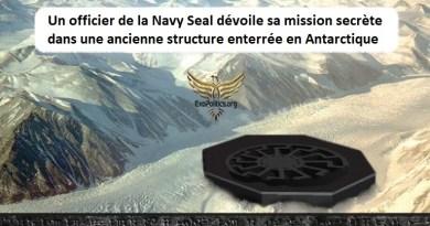 Un officier de la Navy Seal dévoile sa mission secrète dans une ancienne structure enterrée en Antarctique