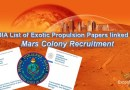 Liste de documents de Propulsion exotique DIA liée au recrutement de colonie de Mars (Laura Magdalene Eisenhower, Michael Salla)