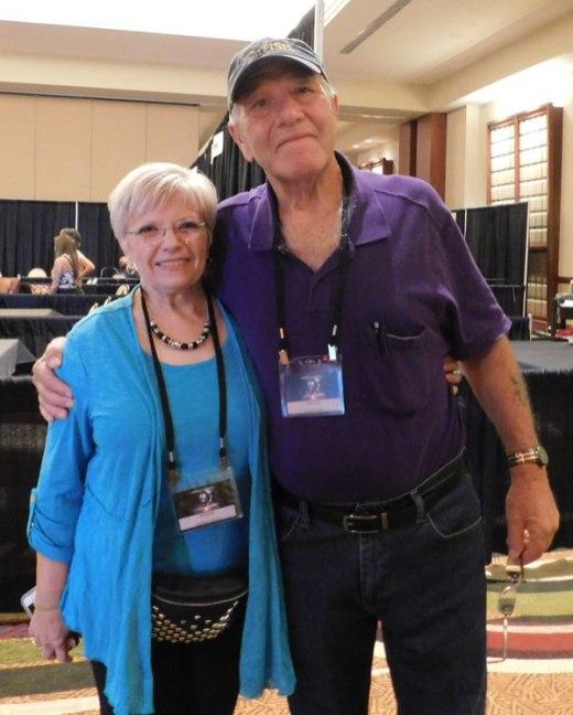 Calvin-Parker-et-Kathleen-Marden-à-lInternational-UFO-Congress-Phoenix-Arizona-Septembre-2019