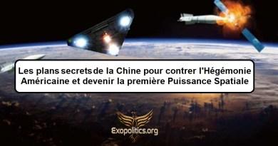 Le plan secret de la Chine pour contrer l'hégémonie américaine et devenir la première puissance spatiale