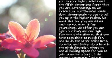 En vous invitant à la communauté galactique ∞ Le Conseil Arcturien 9D