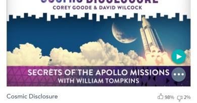 Émission « DIVULGATION COSMIQUE », l'intégrale. Saison 7, épisode 14/32 : SECRETS DES MISSIONS APOLLO AVEC WILLIAM TOMPKINS