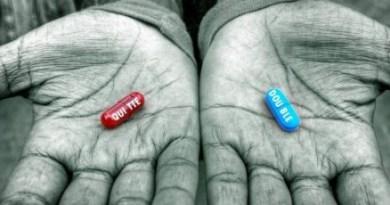 La Pilule Bleue ou la Pilule Rouge ?