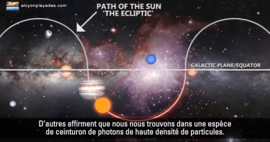 La Ceinture de photons du soleil Alcyon