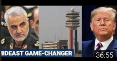 Nouvelle vidéo de la chaîne Radio-Québec : «Trump élimine le principal chef militaire iranien ?»