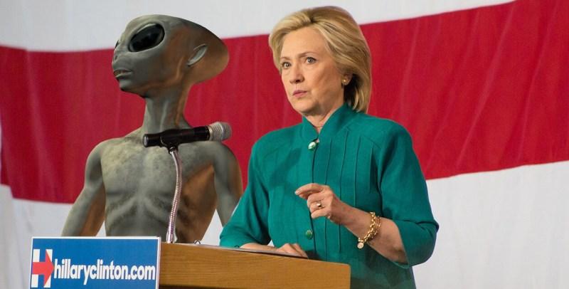 Hillary C-Aliens