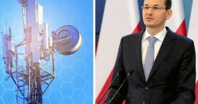 Le Premier ministre polonais signe un appel mondial pour mettre fin à la 5G
