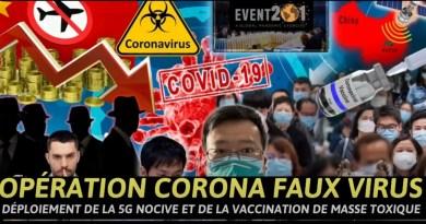 OPÉRATION CORONA «FAUX VIRUS» = 5G + WiFi + Linky + Vaccin Rétrovirus