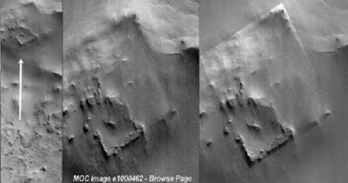 Une sonde de la NASA a capturé les ruines d'une énorme structure en 1997