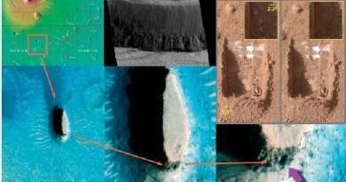 D'étranges occurrences et configurations géométriques sur Mars… !