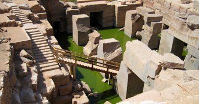Le temple d'Osirion et la fleur de vie: un mystère archéologique