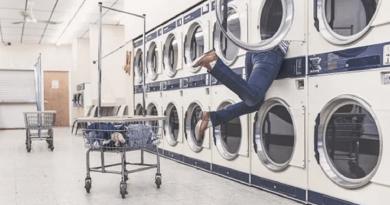 Comme dans le tambour d'une machine à laver…!