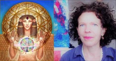 Présentation des Hathors avec Nathalie Abiven, Canal de la Source