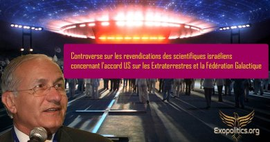 Controverse sur les revendications des scientifiques israéliens concernant l'accord US sur les Extraterrestres et la Fédération Galactique