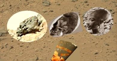 Planète MARS : fossiles terrestres découverts sur des images de la NASA