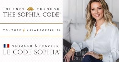 « Voyager à travers les chapitres du Code Sophia » avec Kaia Ra EN DIRECT (programme d'enseignement mensuel)