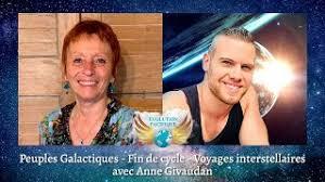 Peuples Galactiques – Fin de cycle – Voyage  interstellaires Avec Anne Givaudan
