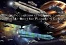 La Fédération Galactique aide l'humanité à construire une Starfleet pour la défense planétaire