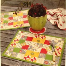 Mod Podge--Learn about using with fabric to create placemats