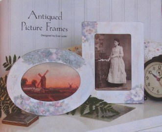 How to inofrmation--Antique Picture Frame