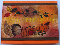 Hand Painted Cards for Thanksgiving could be easier than you think.