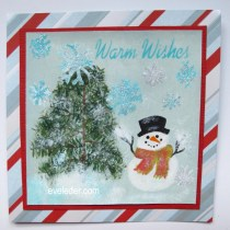 Hand Painted Card--Snowman--learn how they might be easier than you think.