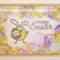Free Form Frame Easter Card
