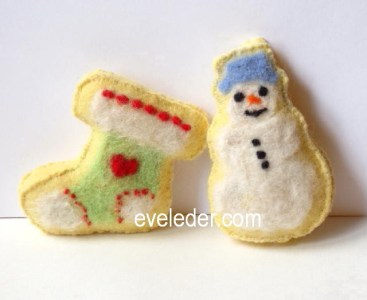 Iced Sugar Cookie Ornaments