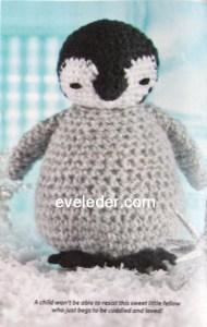Crochet Penguin Toy