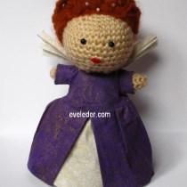 Queen Elizabeth I Crochet Amigurumi