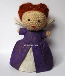 Queen Elizabeth Crochet Amigurumi