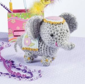 Crochet Amigurumi Elephant inspired by the Indian Elephant Festival