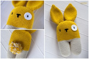 Spanish-English Crochet Rabbit Pattern
