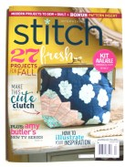 Insulated Lunch Bag--Fall 2015 Stitch cover