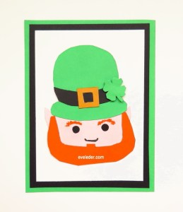 Free St. Patrick's Day Card Making tutorial.