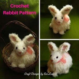 Free Crochet Bunny Amigurumi Pattern | Supergurumi | 300x300