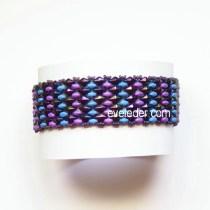 Free two-hole bead pattern