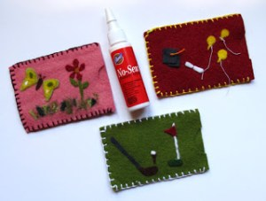 Felt Gift Card Holder for Mom, Dad or Grad