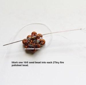 Two-Hole Tango Bead-Beaded Bead