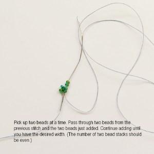 New Two-Hole Es-o Mini Bead