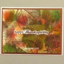 Fall Happy Thanksgiving