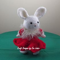 Amigurumi Rabbit's Rockette Costume