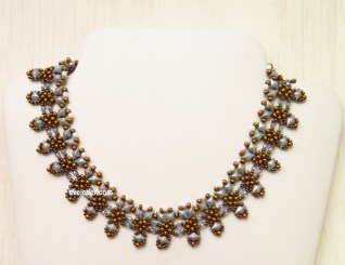 Two-hole DiamonDuo Necklace