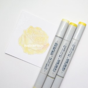 Copic Card Tutorial--This is a Free step-by-step tutorial for beginners on how to use copic markers for your hand stamped cards.