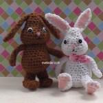Crochet Amigurumi Bunny Rabbit--free pattern