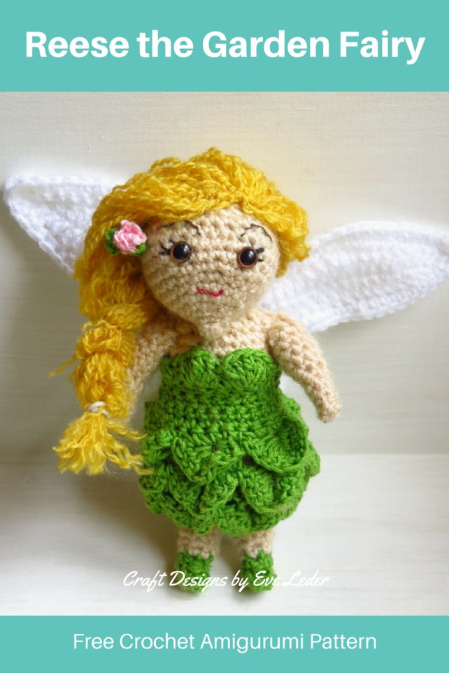 Crochet Fairy Free Amigurumi Pattern Craft Designs By Eve Leder