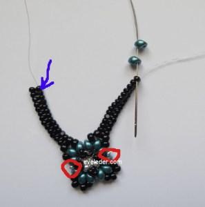 Two-Hole Bead Romance Bracelet--Fig. 8