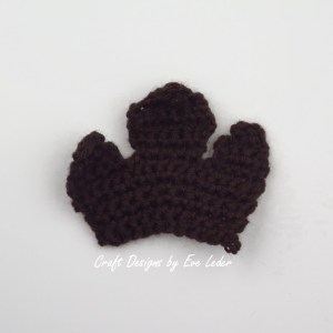 Crochet Leaf Bowl--FREE Fall DIY Decor project-