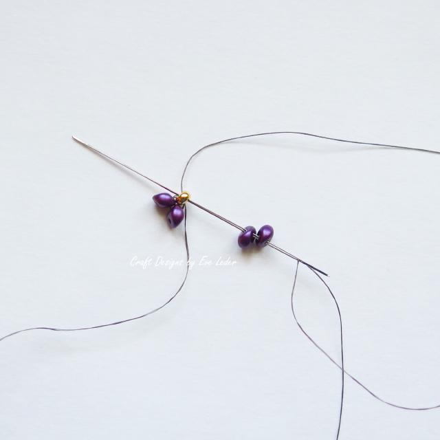 Purple Power Earrings — Craft Designs by Eve Leder